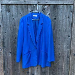 Pendleton Sophisticates Royal Blue Blazer Jacket